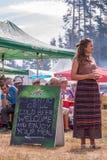 th krajowy festiwal Bułgarski folklor zdjęcia stock