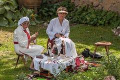 th krajowy festiwal Bułgarski folklor obrazy royalty free