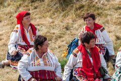 th krajowy festiwal Bułgarski folklor obraz stock