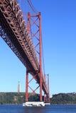 25th Kwietnia most Zdjęcia Stock