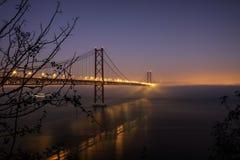 25th Kwietnia most obraz stock