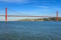 25th Kwietnia most Obrazy Stock