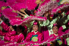 The 40th LA Korean Festival on september 28, 2013 in Los Angeles Stock Photo