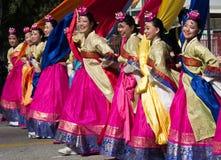 The 40th LA Korean Festival on september 28, 2013 in Los Angeles Stock Photos