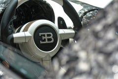88th Lemański Międzynarodowy Motorowy przedstawienie 2018 - Mansory Bugatti Veyron wydania Diamentowa kierownica fotografia royalty free