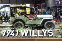 88th Lemański Międzynarodowy Motorowy przedstawienie 2018, 1941 - Willys Obrazy Stock