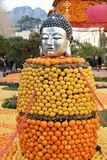 Menton Lemon Festival Stock Photos