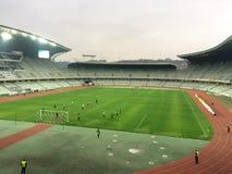 4th ligapre-match Royaltyfri Bild