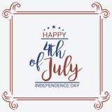 4th Lipa usa dzień niepodległości Zdjęcia Stock