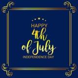 4th Lipa usa dzień niepodległości Zdjęcie Stock