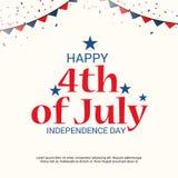 4th Lipa usa dzień niepodległości Fotografia Royalty Free