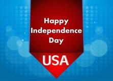 4th Lipiec ilustracja, Amerykański dnia niepodległości świętowanie Zdjęcie Stock