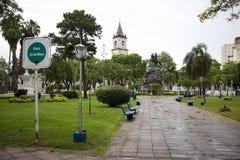 25th Maja kwadrat w Corrientes, Argentyna obrazy stock