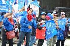 13th Malaysiskt riksdagsval Royaltyfri Foto