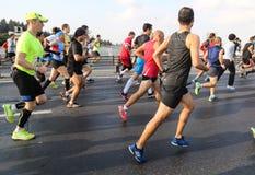 37th maratona de Vodafone Istambul Fotos de Stock Royalty Free