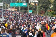37th maratona de Vodafone Istambul Fotografia de Stock Royalty Free