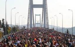 37th maratona de Vodafone Istambul Imagens de Stock Royalty Free