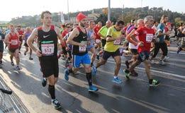 37th maratona de Vodafone Istambul Fotografia de Stock
