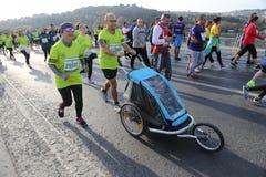37th maratona de Vodafone Istambul Imagem de Stock