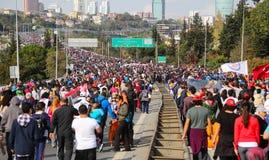 37th maratona de Vodafone Istambul Imagens de Stock