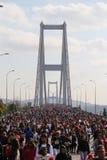 37th maratona de Vodafone Istambul Fotos de Stock