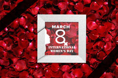 8th march. International woman`s day- 8th march Stock Photo