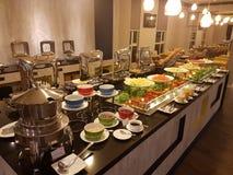 5th Marcowy Kuala Lumpir Bufeta Śniadaniowy ustawianie przy ibisem Projektuje hotel Zdjęcie Royalty Free