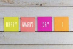 8th mars, internationellt begrepp för dag för kvinna` s Royaltyfri Foto