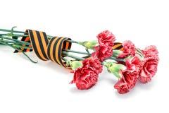 9th May 40 zwalczają się już dni chwały wieczne faszyzm kwiatów pamięci bohaterów honoru dużych nieatutowych przechodzącymi patri Obraz Royalty Free