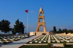 57th memorial do regimento de infantaria, Gallipoli Foto de Stock Royalty Free