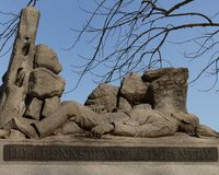116th monument Gettysburg Royaltyfri Bild
