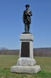 50th monumento de Pensilvânia - campo de batalha nacional de Antietam, Maryland Fotos de Stock