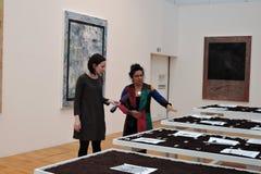 7th Moskva internationella Biennale av samtida konst Royaltyfria Foton