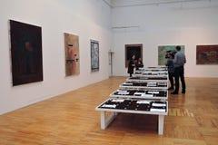7th Moskva internationella Biennale av samtida konst Arkivbilder