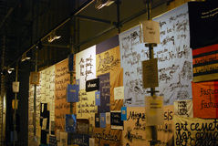 6th Moskwa Biennale dzisiejsza ustawa Zdjęcie Stock