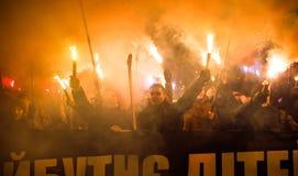 109th narodziny rocznica Stepan Bandera w Kyiv Fotografia Stock
