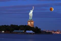 Th New York City Skyline Royalty Free Stock Photo