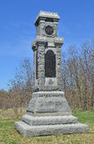 34th New York Infantry Monument - Antietam National Battlefield, Maryland Stock Images