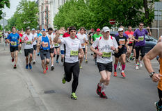 24th Nordea Riga marathon Stock Photo