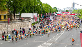 24th Nordea Riga marathon Royalty Free Stock Photos