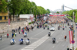 24th Nordea Riga marathon Royalty Free Stock Images