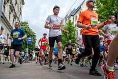 24th Nordea Riga maraton Arkivbilder