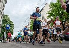 24th Nordea Riga maraton Royaltyfri Fotografi