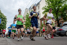 24th Nordea Riga maraton Fotografering för Bildbyråer
