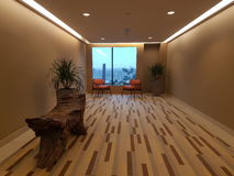 8th nov 2016, Jen Puteri Harbour Hotel Johor Baru, Malaysia Lobby lounge design Royalty Free Stock Photography