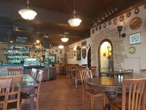 7th Nov 2016, Johor, Malaysia.The George and Dragon Cafe served English Cuisine. George & Dragon Café is a touch of England reflecting a time gone past. It is Stock Photos
