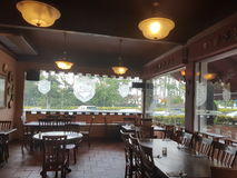 7th Nov 2016, Johor, Malaysia.The George and Dragon Cafe served English Cuisine. George & Dragon Café is a touch of England reflecting a time gone past. It is Royalty Free Stock Photography