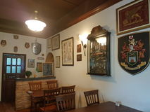 7th Nov 2016, Johor, Malaysia.The George and Dragon Cafe served English Cuisine. George & Dragon Café is a touch of England reflecting a time gone past. It is Royalty Free Stock Images