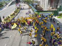 19th Nov 2016, Kuala Lumpur Malaysia's Bersih 5 rally: protesters weigh the cost of action under a repressive regime Stock Photos
