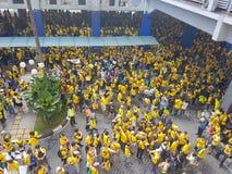 19th 2016 Nov, Kuala Lumpur Malaysia's Bersih 5 wiec: protestujący ważą koszt akcja pod represyjnym reżimem Obraz Stock